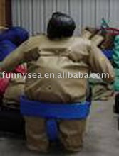 PVC sumo wrestling suits for adult or child wear