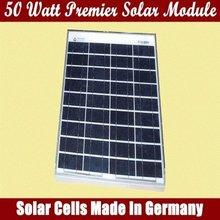 50 Watt Premier Solar panel