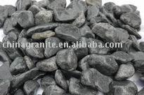 river black pebble stone