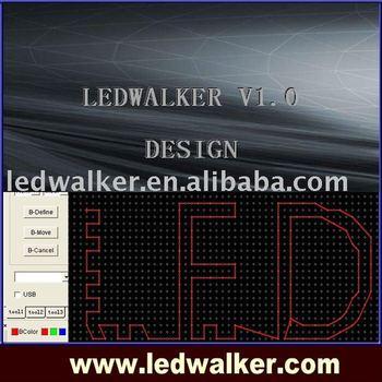LED software Ledwalker V1.0