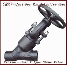 Pressure Seal Y Type Globe Valve