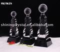 trofeos de cristal de vidrio