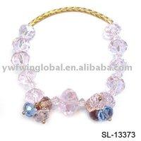 Bracelet,charm bracelet,glass bracelet