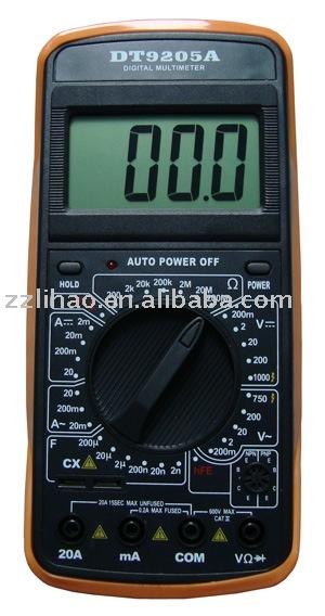 Digital Multimeter Ge2524 Manual