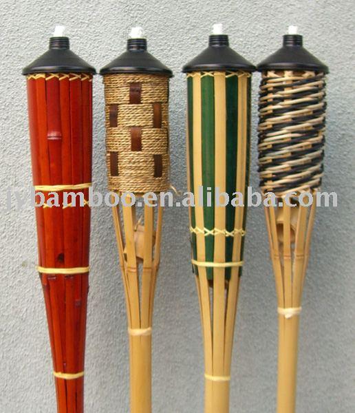 Jard n antorcha de bamb de artesan as populares for Antorchas para jardin