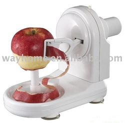 electric auto apple peeler,apple corer,apple cutter,apple divider,apple splitter,pear slicer,fruit knife,apple wedger, gifts