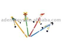 cartoon pen, wooden toy, pen toy