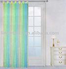 rainbow organza curtain