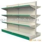 Supermarket shelves