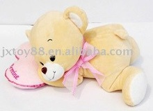 Hot gift Stuffed bear baby plush toy with heart CE