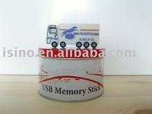 PVC Truck Shape USB Flash Drive