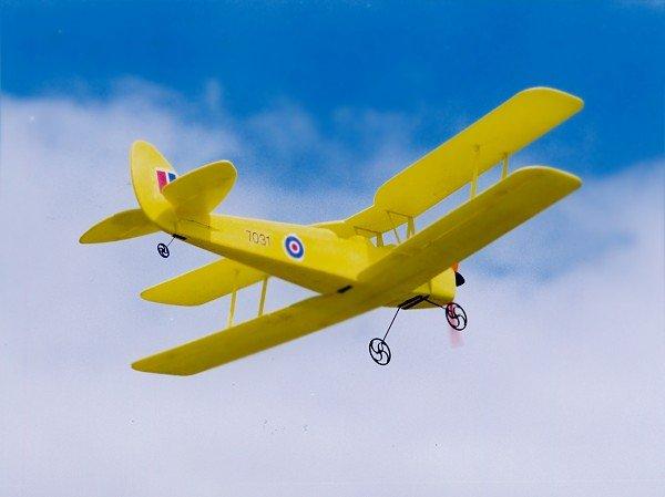 GWS Tiger Moth 400 model plane