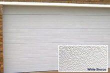 Galvanized Steel sectional garage door