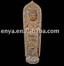Buddha Statue/sculpture, Antique Wood Carving, religious crafts