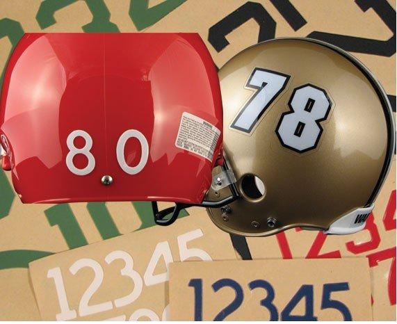 football helmet decals. Football Helmet Decals - Die