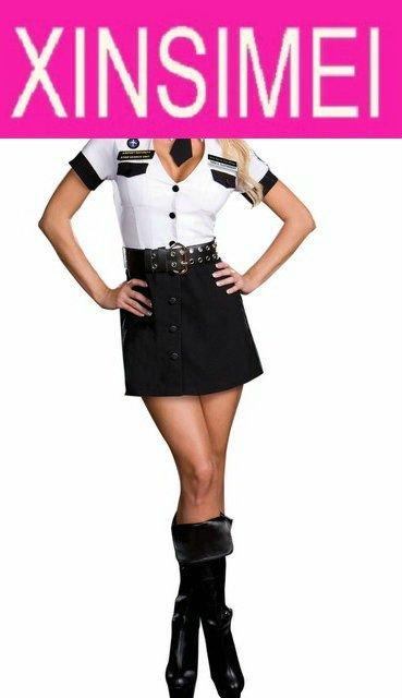 women Sexy Cop Costumes, halloween costumes, plus size costume