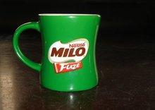 11oZ green coffee mug