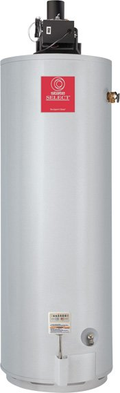 A.O. Smith BTF-80 Commercial Tank Type Water Heater, Natural Gas, 74 Gallon, Conservationist PDV Power Direct-Vent, Single Flue, 76,500 BTU Input