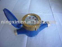 Dry dial rotary vane wheel water meter