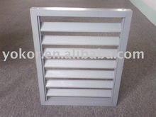 aluminum shutter window with high quality