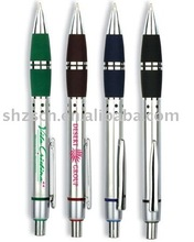 Plastic click gift ball pen for promotion and advertising