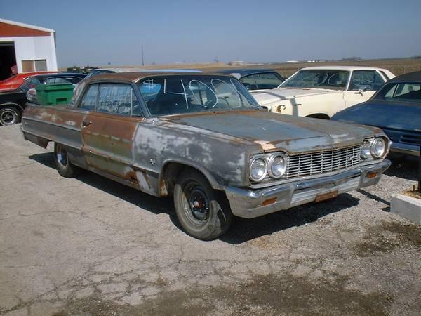 ใช้รถเชฟโรเลตอิมพาลา1964