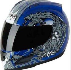 Helmet--Skyo Serpent Full Face (blue)
