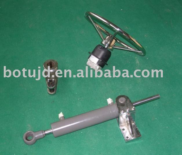 manual hidráulico de engranajes de dirección