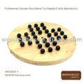 Juego de ajedrez de madera