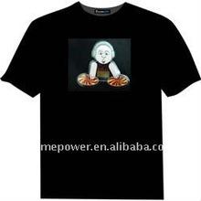 flashing T-shirt, equalizer t-shirt