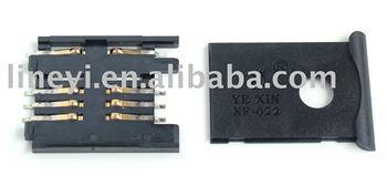 Drawer Type SIM Card Connector