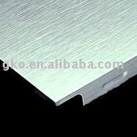 aluminum ceiling material:Stainless steel brushed aluminum foil