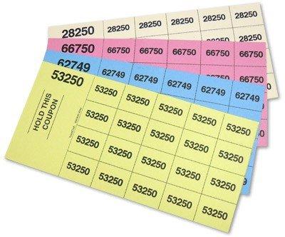 Raffle Ticket Template – Free Numbered Raffle Ticket Template