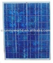 55 watt poly solar panel/module