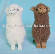 Colored Plush Grass Mud Horse