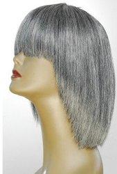 wig-JAGUAR LUXURY VIRGIN REMI HUMAN HAIR-SALT AND PEPPER GRAY