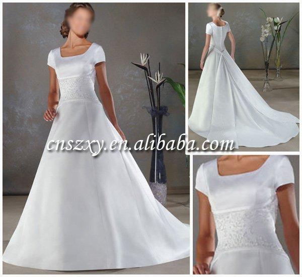 stunning latest wedding dress Jessie125