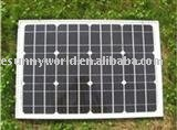 55W solar panel for solar street light