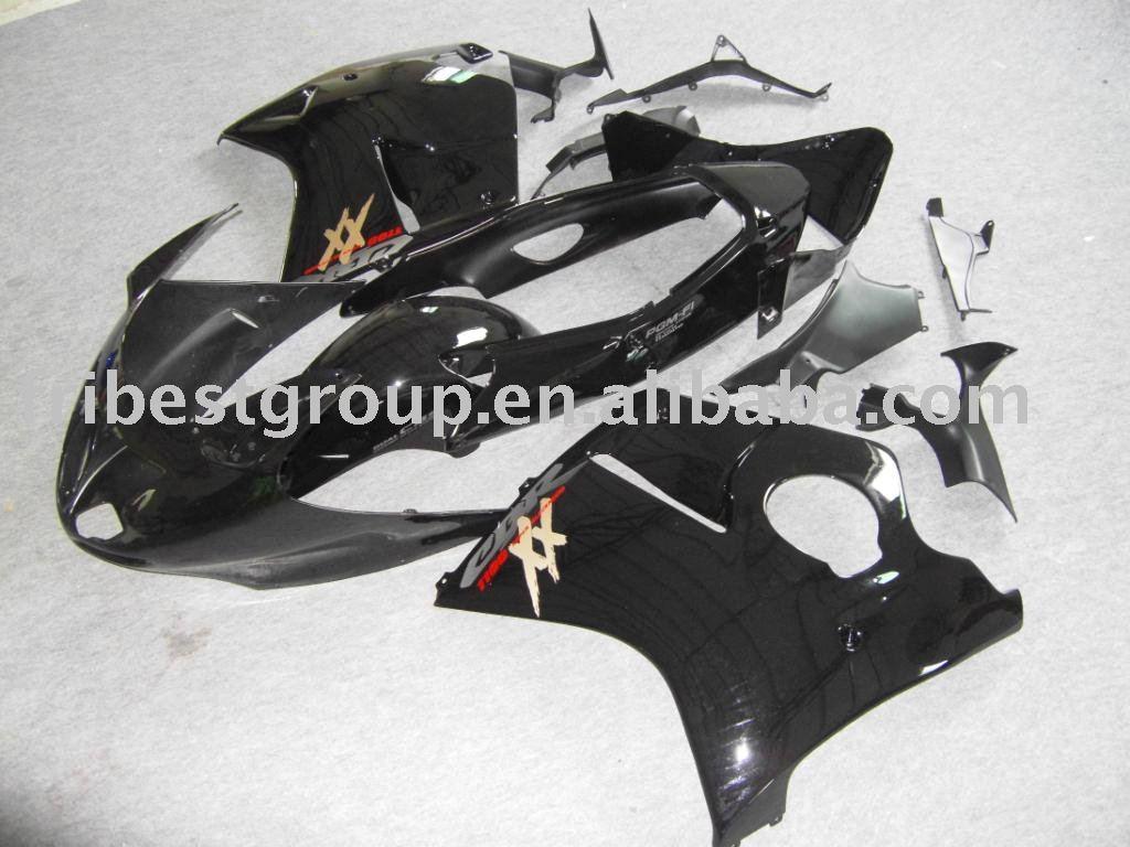 Fairing kit for HONDA black