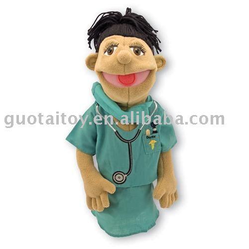 Mano del médico / médico / médico muñecos de juguete de la