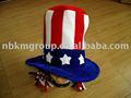 desfile patriótico tío sam sombrero