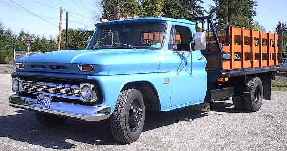 1966 1 ton Chevy truck