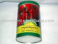 Tomato Product,small drum packing, 4.5kg tomato