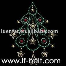 Hotfix rhinestone Motif ,rhinestone tree motif,iron on motifs