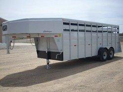 "horse trailers '09 Titan ""Challenger"" Stock"