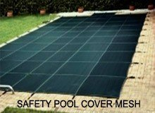 Tarpaulin - high-end safety pool cover mesh