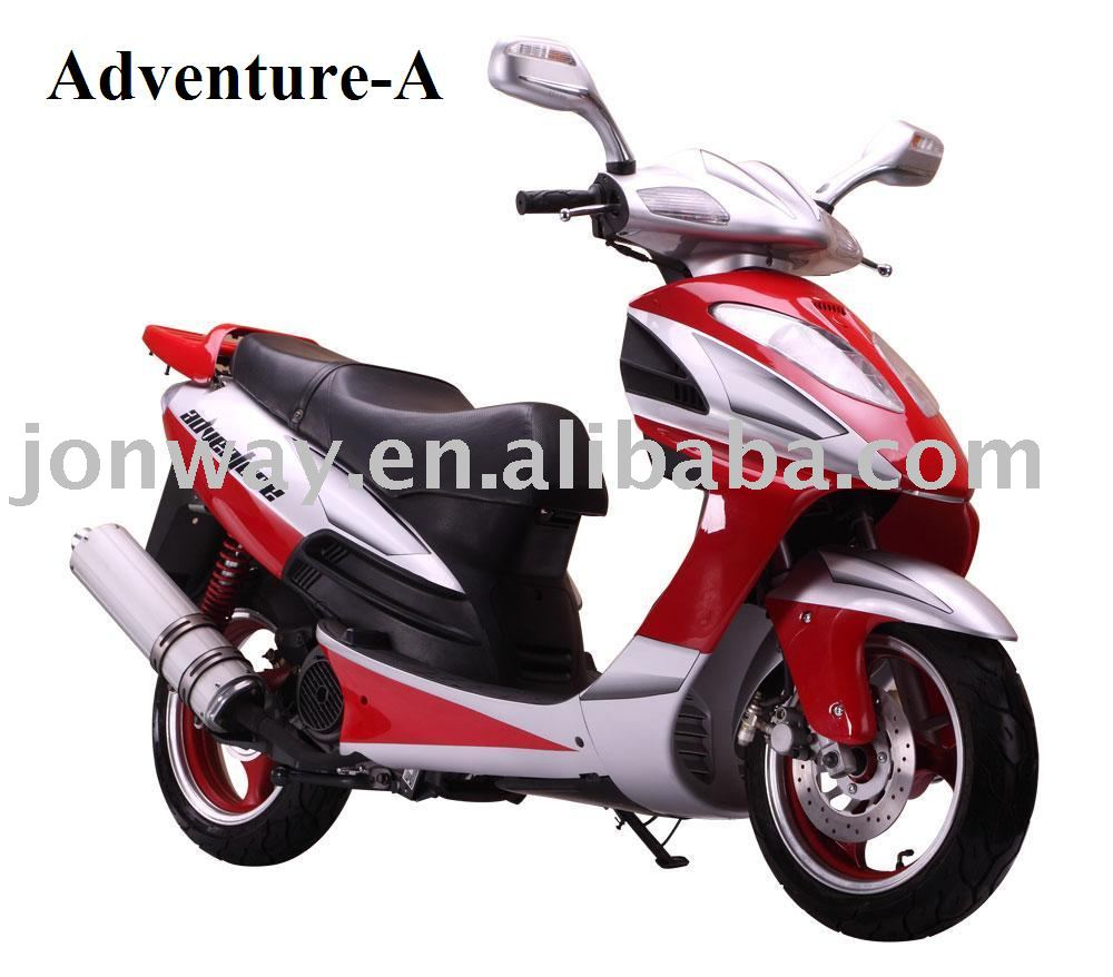 Adventure 150 Longbo Motor Scooter| Motorscooters.com | Scooters