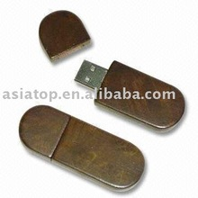Eco USB Flash Drive with 16MB to 32GB Flash Memory, Supports USB HDD and USB Zip with Dual Boot Mode