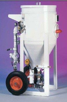 Dry Blasting - Soda Blasting Equipment-MaxxStrip 1.5, 2 and 3 Cu. Ft. Soda Blaster Pots