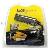 easy cap usb 2.0 audio-video capture adapter